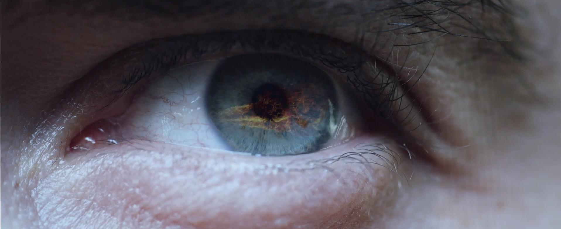 eyes close-up indoor organ iris blood vessel